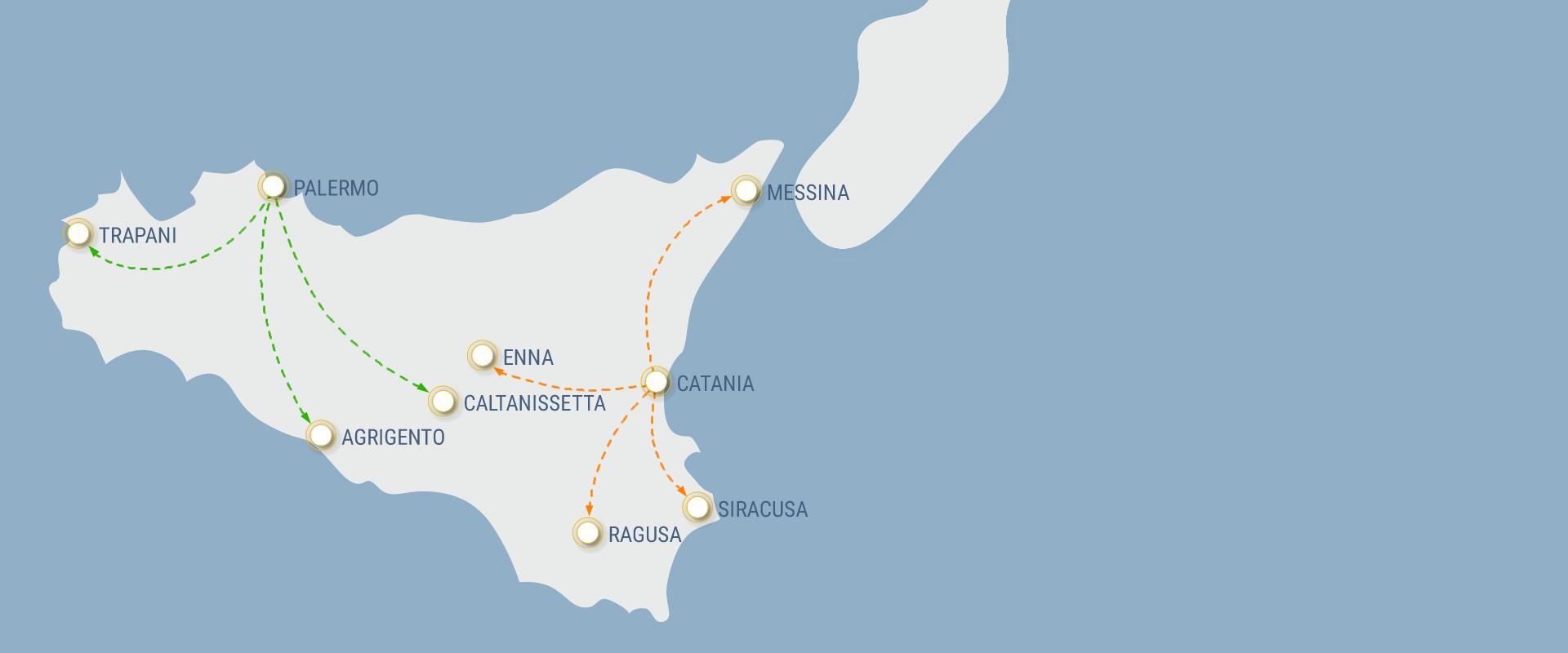 Deposito e distribuzione in Sicilia
